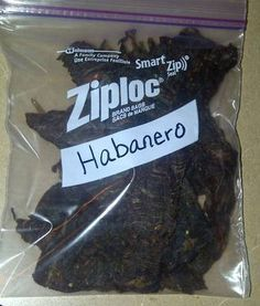 Habanero Beef Jerky I know my packaging is fancy…but this is Food I Mail My Soldier. This is spicy…not just a kick, its SPICY…but he likes it! Proceed with caution haha. I also made a ton of regular BBQ beef jerky, but I already packed it up. Oops…but its just jerky so it looks the …