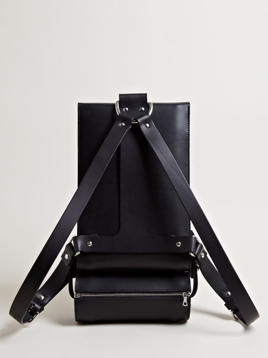 Fleet Ilya Womens Wedge Rucksack From SS13 Collection In Black.