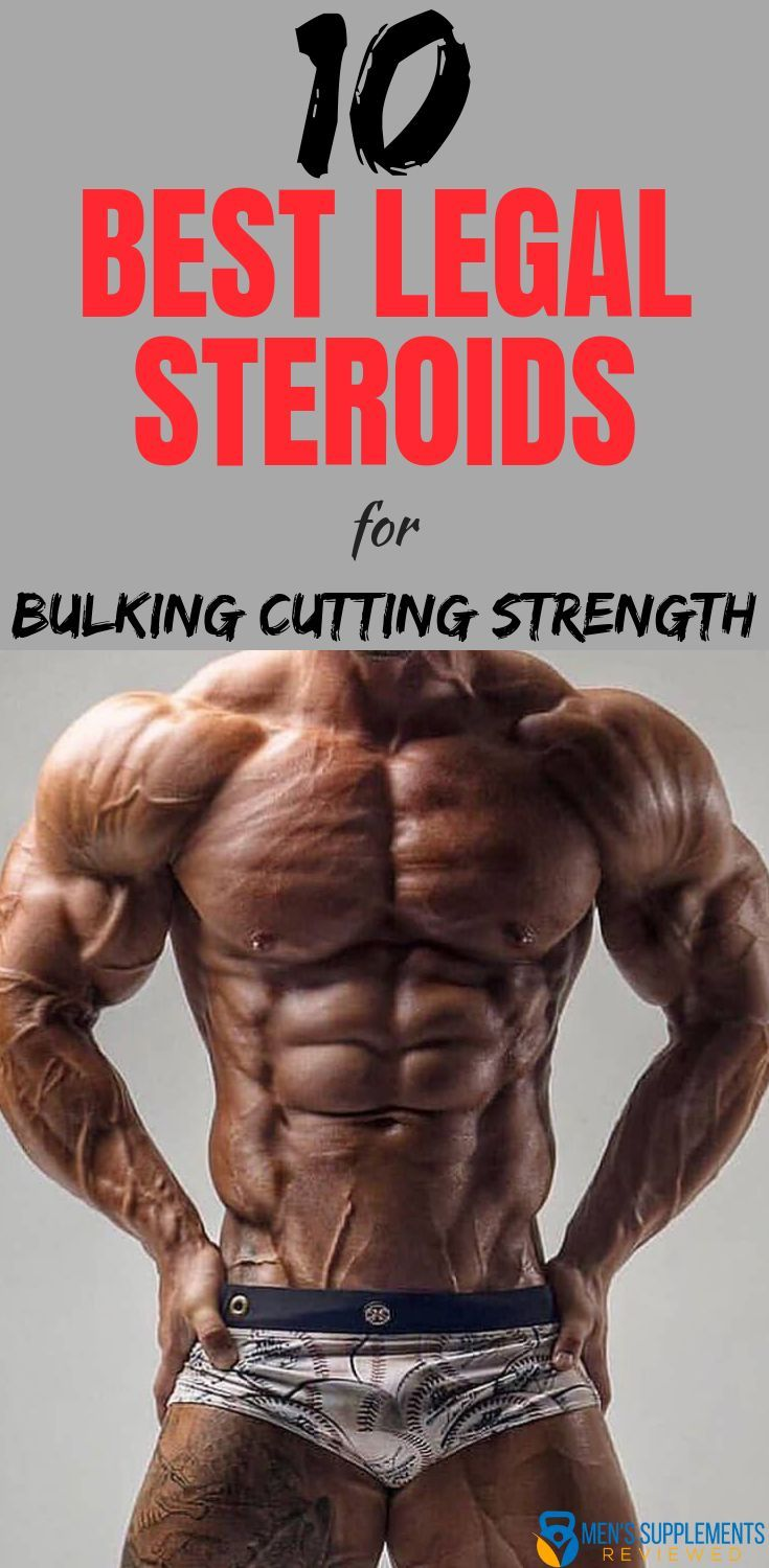 BEST Legal Steroids For 2019 - [Top 10] Anabolic Alternatives 3
