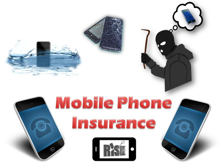 This image helps to know how a mobile phone insurance can protect our precious and expensive mobile device from unforeseen circumstances.
