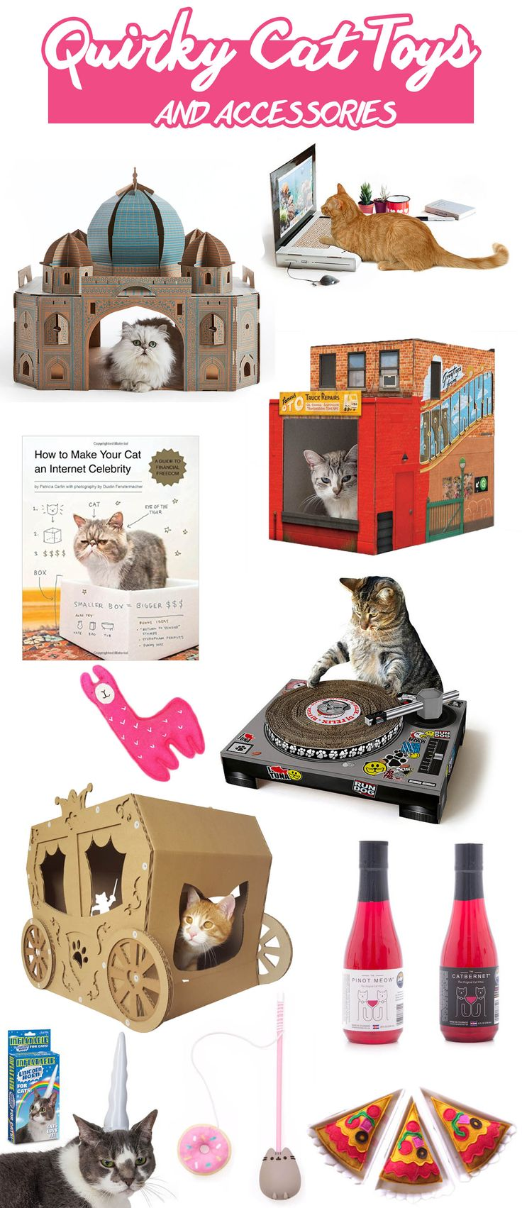 Quirky Cats Toys and unique accessories for cats. | Modern Cat Supplies that Don't Make Me Cry
