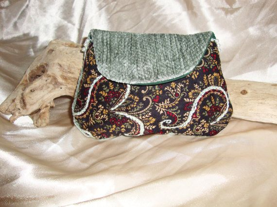 Beautifully Beaded Bag by OneGoldenCloud on Etsy