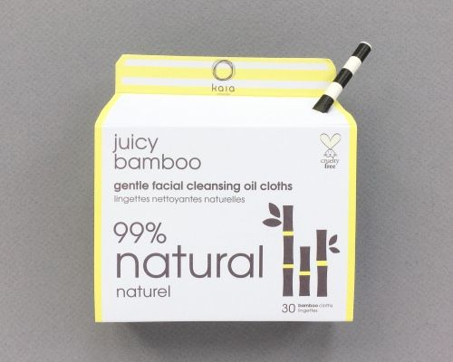Kaia Naturals Juicy Bamboo Gentle Facial Oil Cloths - Retails $15.50. Asking $3. New, unused.