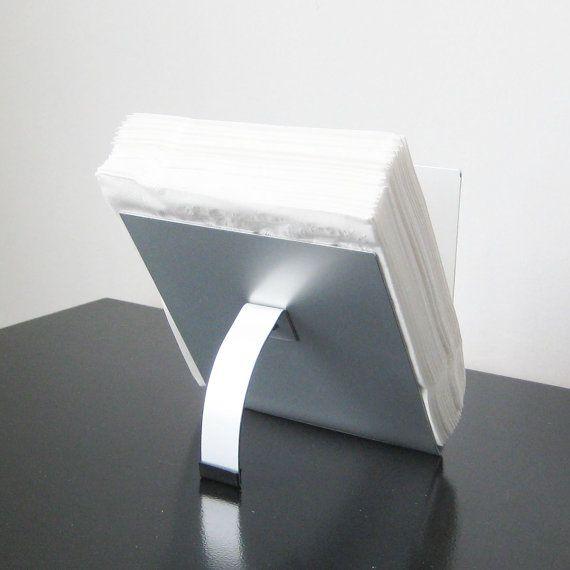Modern Napkin Holder by steelribbons on Etsy, $35.00