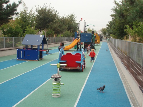 Aire de jeux - Paris - Square Clichy-Batignolles | BaLaDO