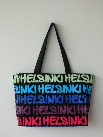 Helsinki Canvas Bag. Hinta 15,90€