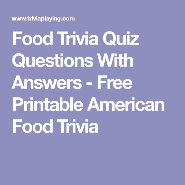 The 25+ best Trivia quiz questions ideas on Pinterest Free - free printable quiz