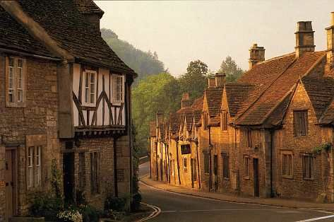 the Cotswold villages of England,   Castle Combe is one of the prettiest...