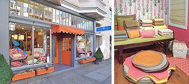 San Francisco~~ Lotus Bleu ~ Home Décor & Interior Design ~~: Pattern, Book, Rich Colors, Bleu Boutiques