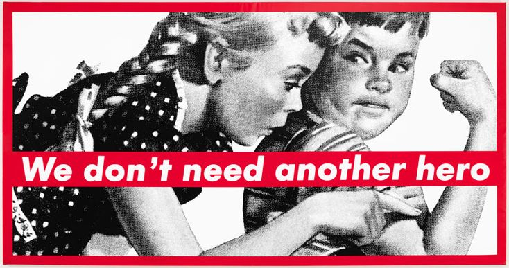 In the Tower: Barbara Kruger
