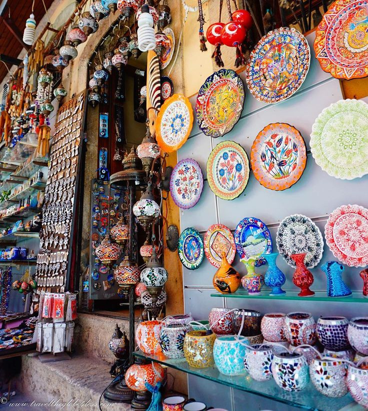 Cool colours in the old town of #Antalya #Kaleici. A great day out if you are staying in and around Antalya as we were. #Turkey #MeldaPalace #Trave; #Travelblog #travelbloggerlife