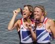 Gold medallists Britain