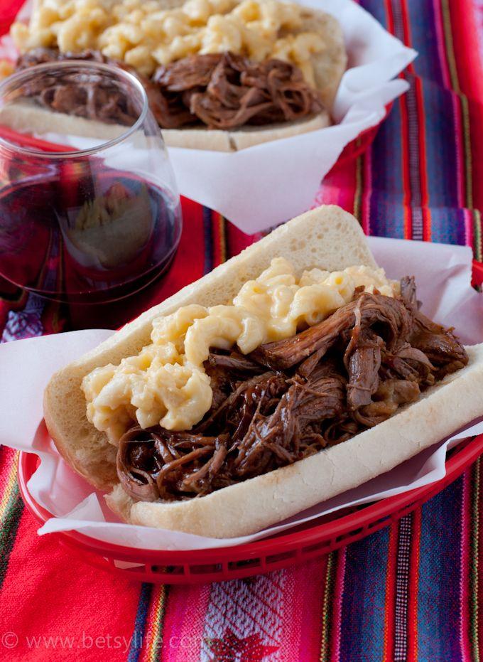 Braised Beef Mac & Cheese Sandwiches | Recipe | Cheese ...
