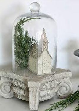 Church house cloche via Honey Comb Creative