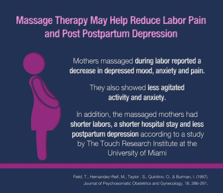benefits massage therapy anxiety depression