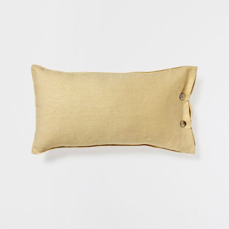 Sewing Inspiration (make this) PLAIN-COLORED PILLOW WITH BUTTONS - Decorative Pillows - Decor and pillows | Zara Home United States