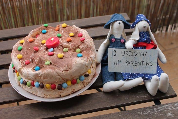 Oto zwycięski tort z okazji 9. urodzin WP Parenting! Gratulujemy! Chcesz poznac przepis? Kliknij! ;-) #tort #konkurs #cake #contest