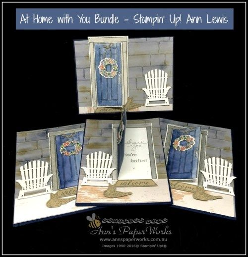 At Home with You Bundle, Invitation card with instructions, Global Stampers Challenge, 2017-18 Stampin' Up! Annual Catalogue, Ann's PaperWorks| Ann Lewis| Stampin' Up! (Aus) available from my online store 24/7