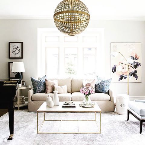 Love the color pallette and the intimacy of this space.  I don't think that the gold would work in my home though.