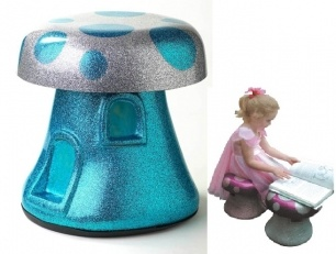 ORIGINAL - FUNKI FUNGI MUSHROOM STOOLS - Custom Made to Keep Forever  Item 11058343    oh my giddy aunt! original design, handcrafted, unique sculptures. Art you can sit on, furniture you can play with... and they glow in the dark!    A Funki Fungi is a life size mushroom you can sit on. A dream come true for every little fairy and elf. Real 'keep forever' presents, Funki Fungi will find a special place in your child's heart and will be the treasure and dreams they pass on to their own…