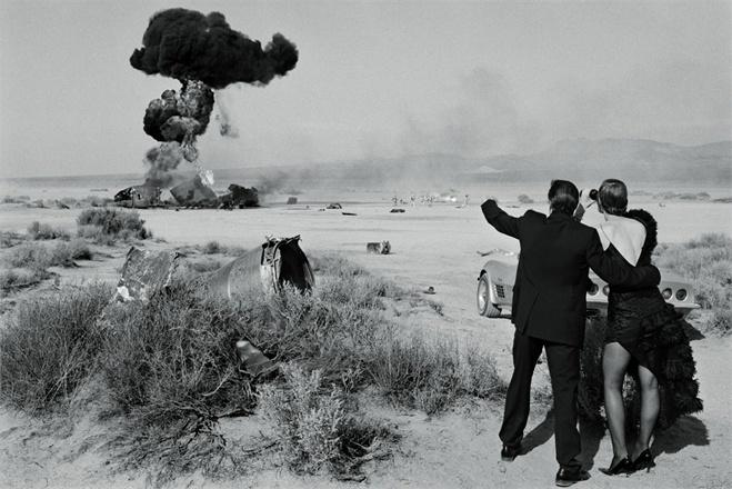 Fred Ward e Guinevere Van Seenus  By Peter Lindbergh
