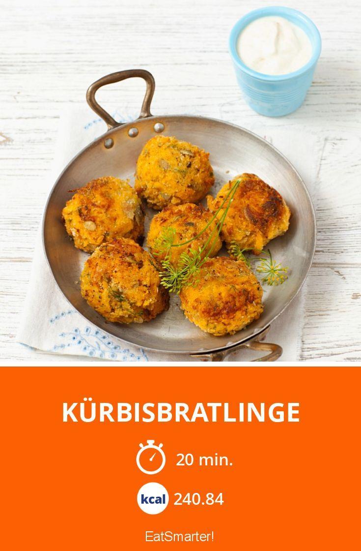 Kürbisbratlinge - smarter - Kalorien: 240.84 kcal - Zeit: 20 Min. | eatsmarter.de