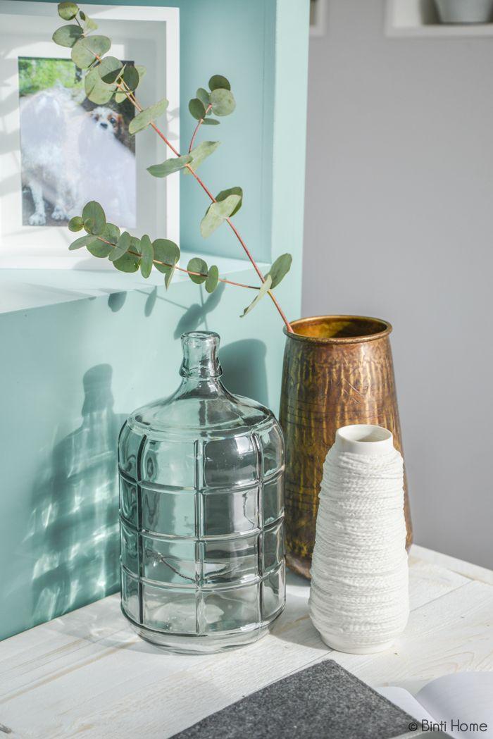 Propstyling, glass, Eigen Huis en Tuin zolder interieurontwerp ©BintiHome