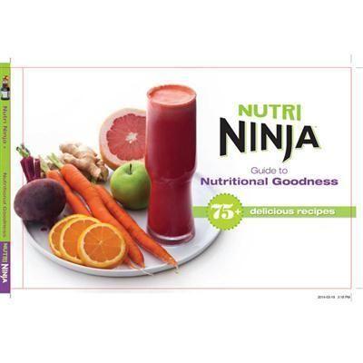 Nutri Ninja Recipe Cookbook