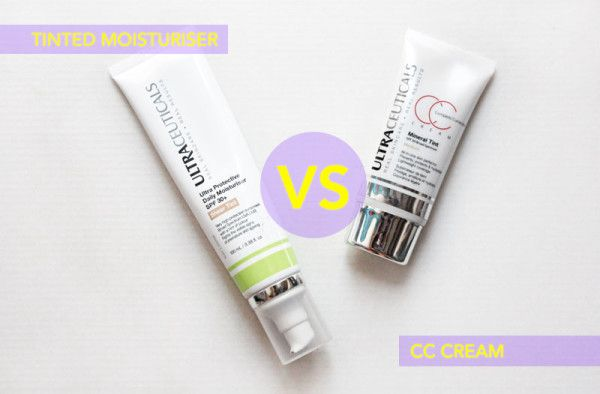 We talk to #Ultraceuticals about the difference between #TintedMoisturiser and a #CCcream. #beauty #skincare http://www.sassybella.com/2013/10/tinted-moisturiser-vs-bbcc-cream/