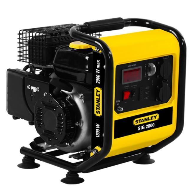 Silent Stanley 2000W Digital Inverter Generator 4 Stroke- Portable and Powerful