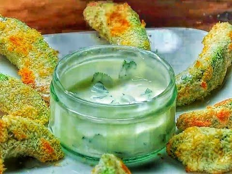 Baked Avocado And Coconut Wedges - YouTube