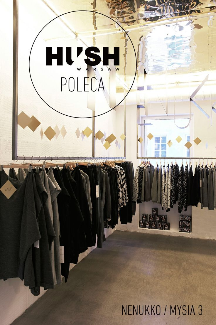 NENUKKO- fashion boutique in Warsaw recommended by HUSH Warsaw.