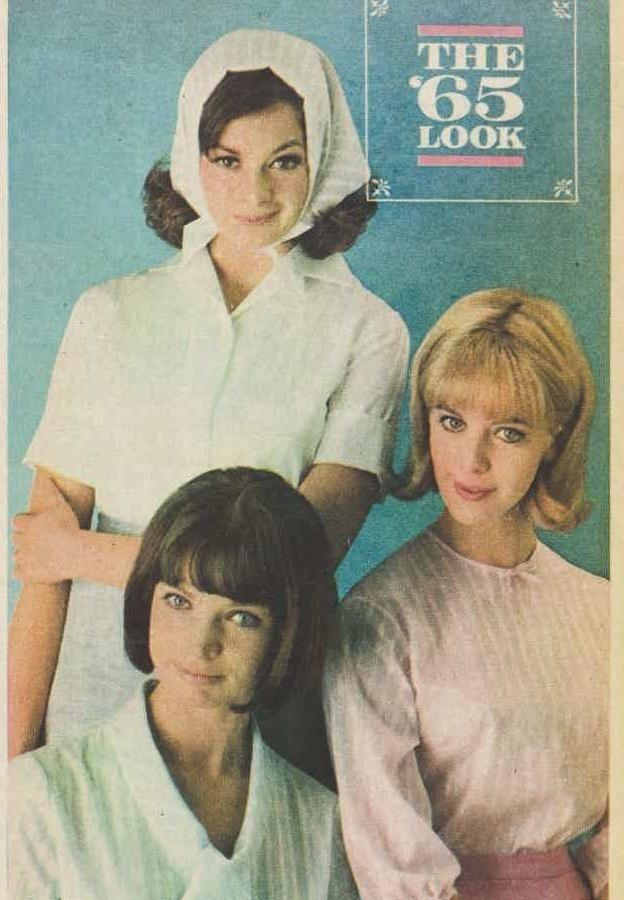 Lady Pelaco advert 1965