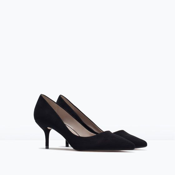 Image 2 of MEDIUM HEEL COURT SHOE from Zara