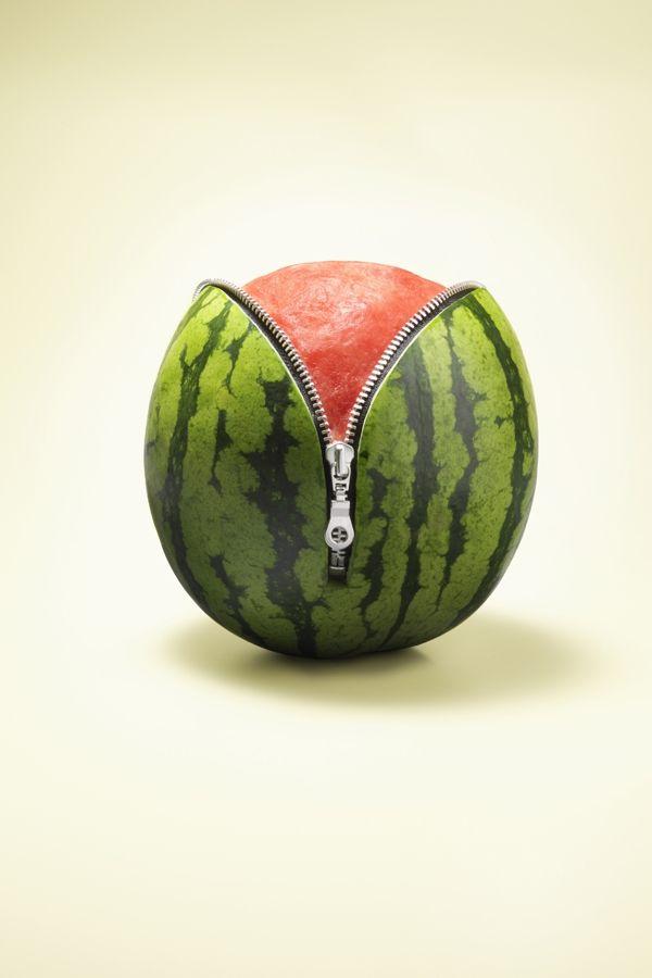 Partytrick! Zo schil je een watermeloen   ELLE Eten