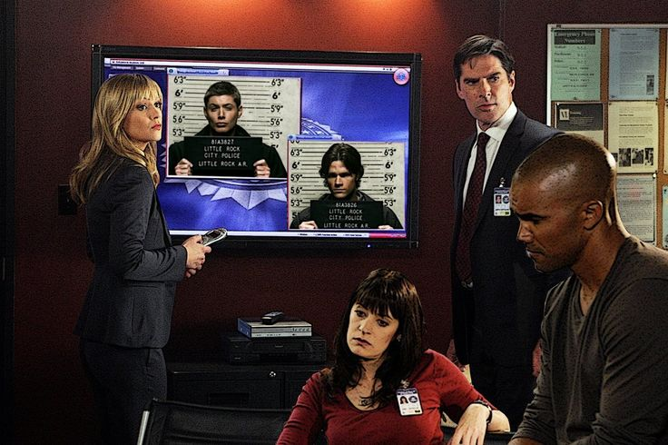 Criminal Minds / Supernatural Crossover --because the world deserves this level of awesome.