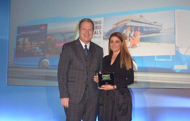 Attica Group Wins Gold Award for Eurail and Interrail Greek Islands Pass Products.
