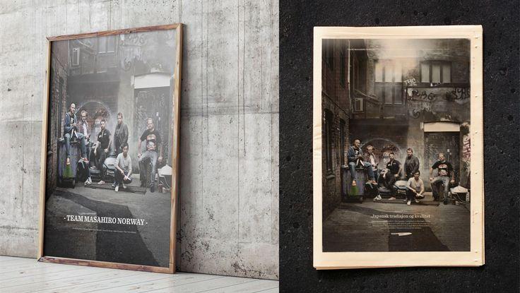 Masahiro advertising | Breakfast.no