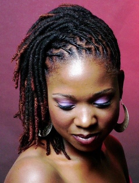 Dreadlocks Hairstyles for Black Women One Luv +dreadstop / @DreadStop #dreadlocks :: #dreadstop