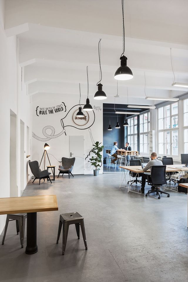 bubble an innovative digital agency based in prague czech republic recently expanded its office space in prague 7 district some of the amenities include - Office Space Design Ideas