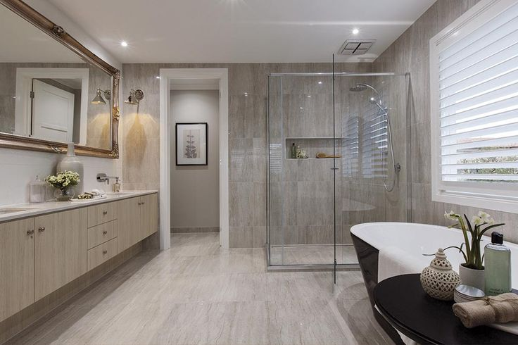 Master Ensuite in the Brookwater with Classic Hamptons World of Style.