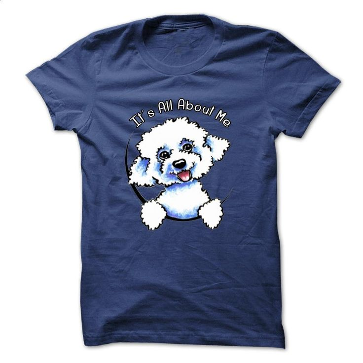 It's all about me, my Bichon Frise T Shirts, Hoodies, Sweatshirts - #hoody #hoodies womens. ORDER NOW => https://www.sunfrog.com/Pets/Its-all-about-me-my-Bichon-Frise-RoyalBlue-32962044-Guys.html?60505