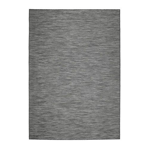 IKEA - HODDE, Teppich flach gewebt, 160x230 cm, , Aus Synthetikfasern und daher robust, fleckabweisend und leicht zu reinigen.Besonders geeignet für Wohnzimmer oder unter Esstischen. Stühle lassen sich auf der glatten Oberfläche gut bewegen, das Staubsaugen wird erleichtert.Auch für draußen geeignet - hält Regen, Sonnenlicht, Schnee und Verschmutzung stand.