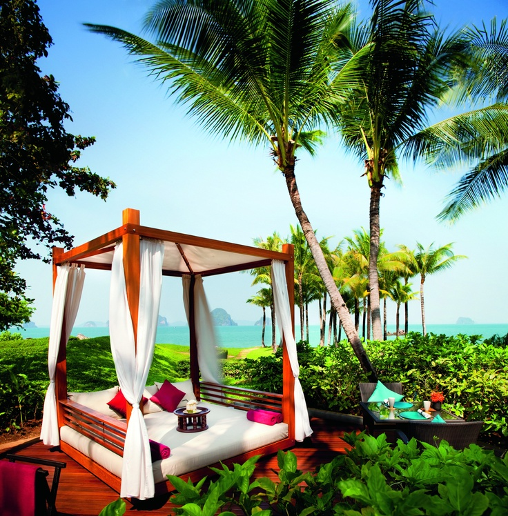 23 best images about krabi thailand on pinterest angkor for Swimming pool cabanas