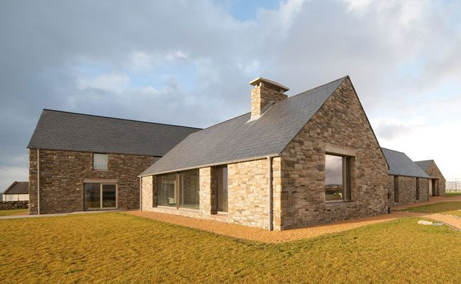 "House on Blacksod Bay by Tierney Haines Architects | West Mayo, Ireland Simple geometry and 28"" thick walls!"
