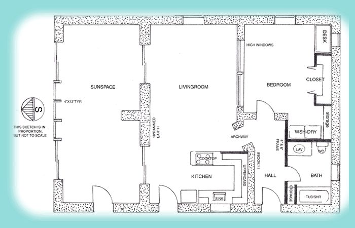 75 best tire house images on pinterest earthship green for Earth home floor plans