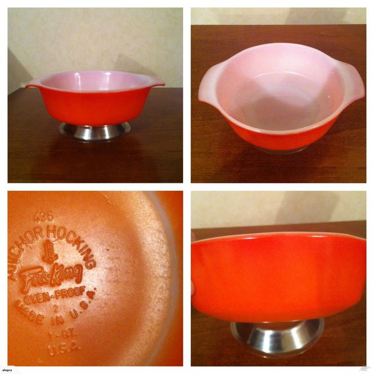 VINTAGE ANCHOR HOCKING FIRE-KING ROUND CASSEROLE | Trade Me