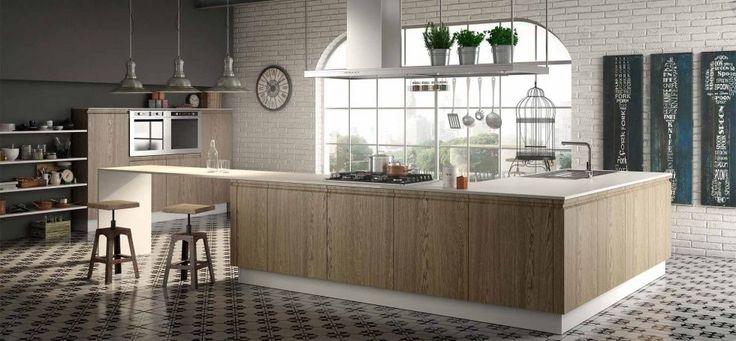 Tutta la bellezza delle venatura: quando il legno si esprime e diventa cucina