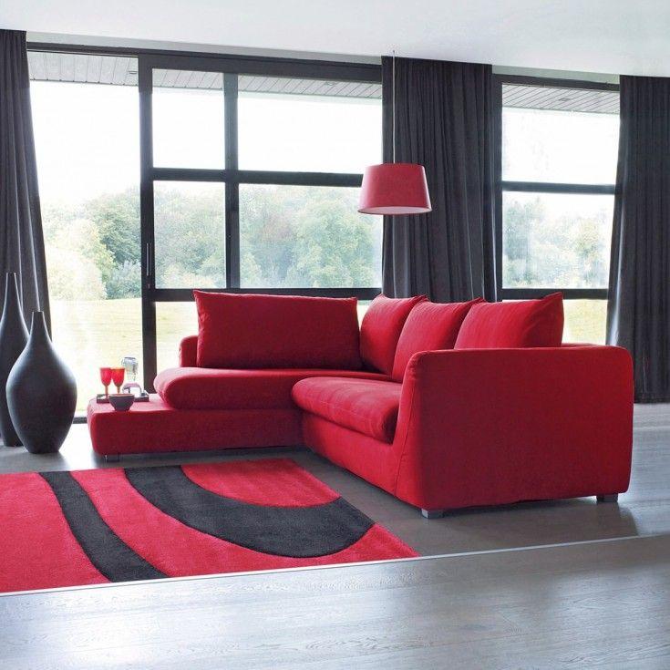 Deco Salon Rouge Et Blanc. Deco Salon Rouge Blanc Noir Awesome ...