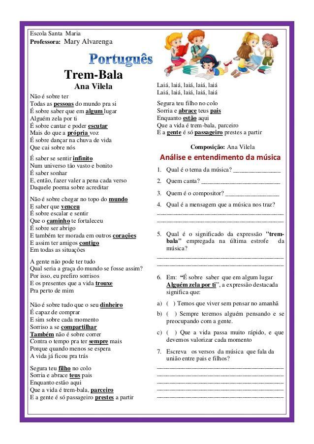 Trem Bala De Ana Vilela Analise E Entendimento Da Musica